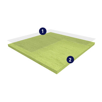 Gerflor Mipolam Classic Product Construction